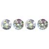 Sequins Round 8mm Aprx 850pcs Hologram Silver